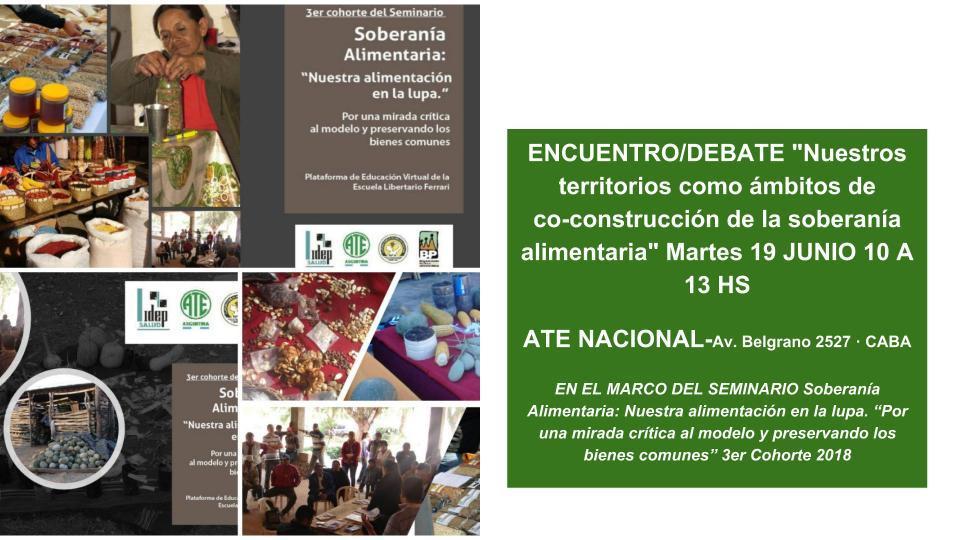 ENCUENTRO DEBATE | NUESTROS TERRITORIOS COMO AMBITOS DE CO ...
